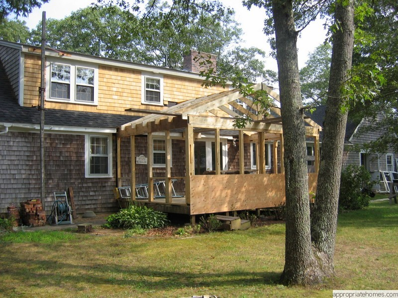 Roofing and siding contractor cape cod appropriate for Cape cod home additions