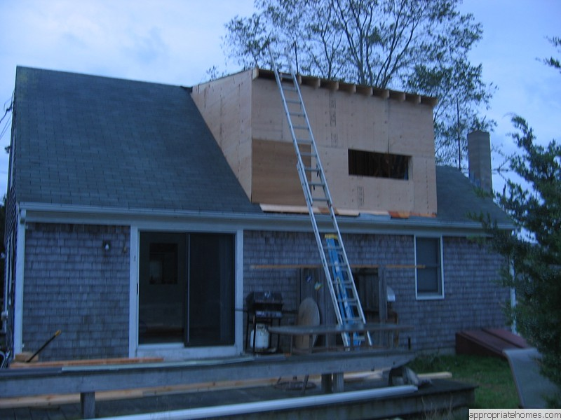 Remodeling contractor cape cod appropriate home design for Cape cod dormer addition