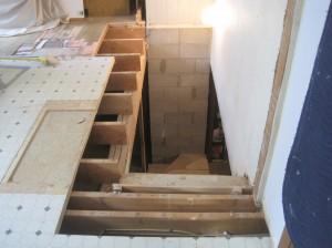 flooring cut back
