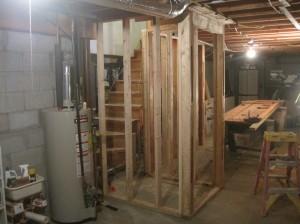 basement entry walls