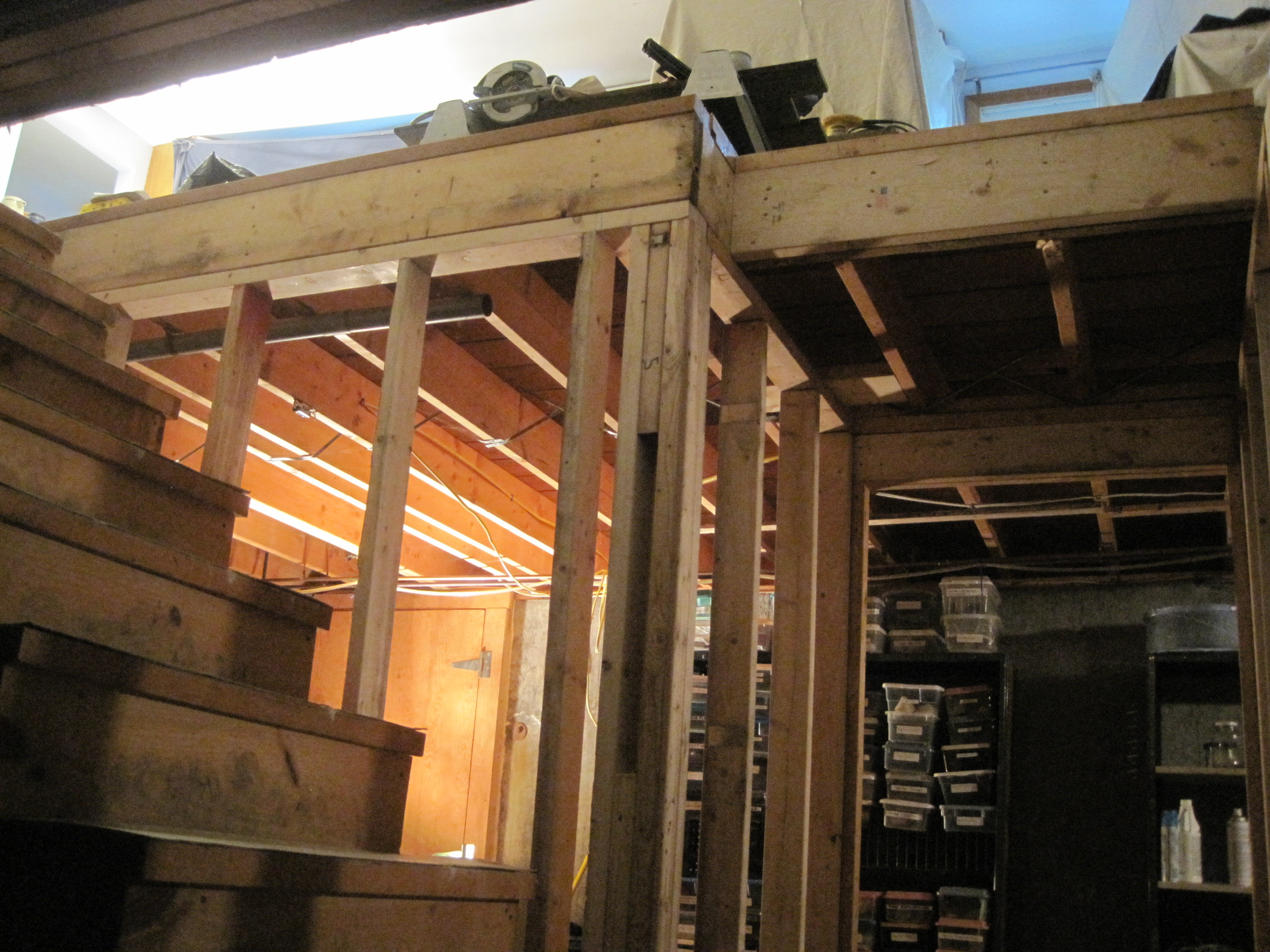 Basement Stair Framing Home Improvement Blog
